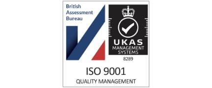 ACS Registrars Logo - Athena Forensics ISO 9001 Logo